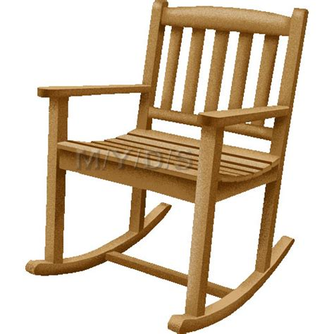 Animated Rocking Chair by Rocking Chair Rocker Clipart Free Clip