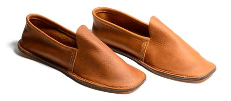 house slippers kaufmann mercantile men s leather house shoes in brown for men lyst