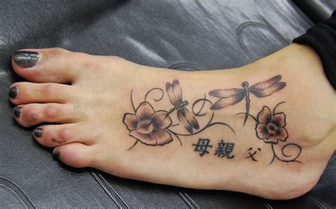 dragonfly and flower tattoo designs dragonfly tattoos designs ideas and meaning tattoos for you