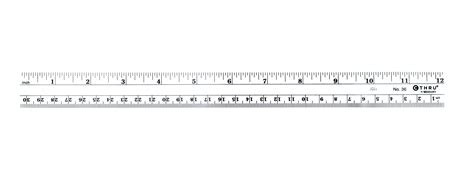 printable ruler right to left c thru flexible inch metric rulers at guiry s color source