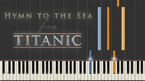 tutorial piano titanic easy hymn to the sea titanic synthesia piano tutorial youtube