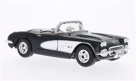 Miniatur Motor Diecast Ixo Montesa Impala 1 24 chevrolet corvette c1 black white 1959 motormax diecast