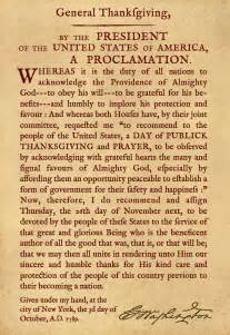 the first thanksgiving proclamation the supreme season for gratitude for god s blessings