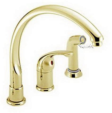 delta 172 pbwf waterfall single handle kitchen faucet