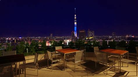 top bars in tokyo the gate hotel kaminarimon restaurant bar roof terrace in tokyo therooftopguide com