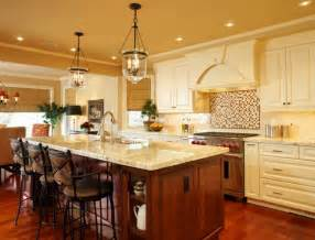 Light Fixtures Over Kitchen Island by French Country Kitchen Island Lighting The Interior