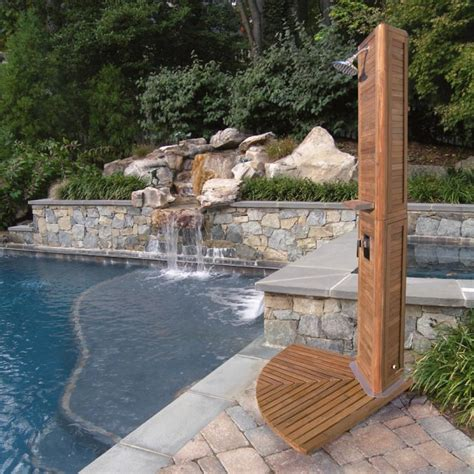 outdoor bathroom for pool 25 fabulous outdoor shower design ideas