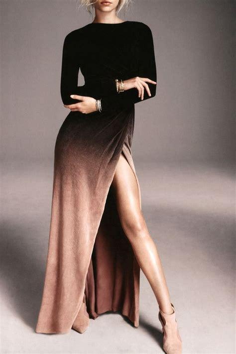 Sleeve Slit Side Dress best 25 slit dress ideas on slit dress