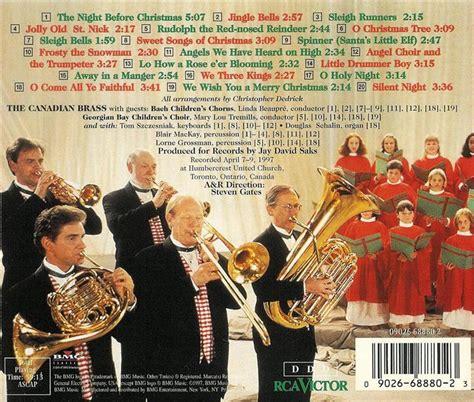 canadian brass a christmas experiment cd ebay