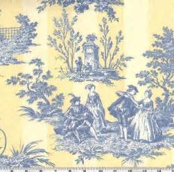 Yellow And Blue Toile Curtains » Home Design 2017