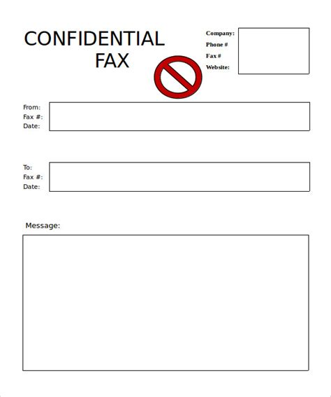 blank fax cover sheet download 10 blank fax cover sheet templates free sle exle