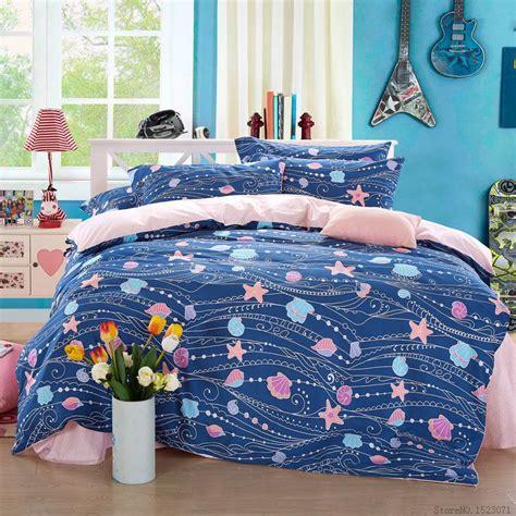 starfish bedding blue sea shell starfish print bedding set cat giraffe