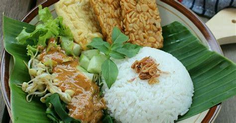 resep nasi pecel enak  sederhana cookpad