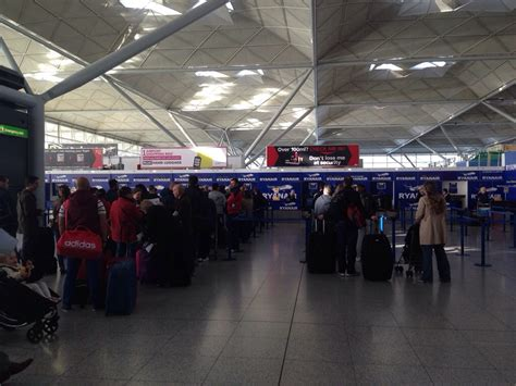 london stansted airport   baby   fine