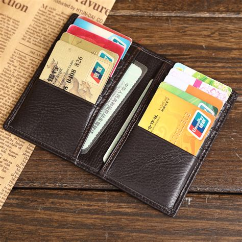 how to make a leather card holder aliexpress buy grade genuine leather credit