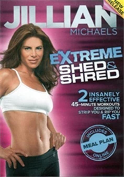 Jillian Shed And Shred Calories Burned jillian shed shred dvd