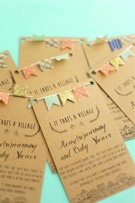 Baby Shower Invites Diy by Best 25 Baby Shower Invitations Ideas On Diy