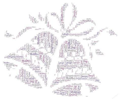 Wedding Bell Words by Pair Of Wedding Bells Word Cup722336 2229 Craftsuprint