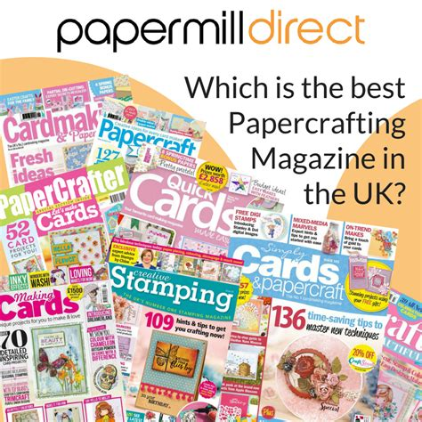 Papercrafting Magazines - papercraft magazines in the uk which are your favourites