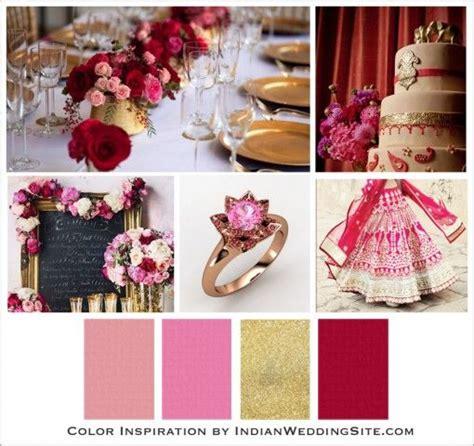 romantic color schemes 42 best indian wedding color palette images on pinterest
