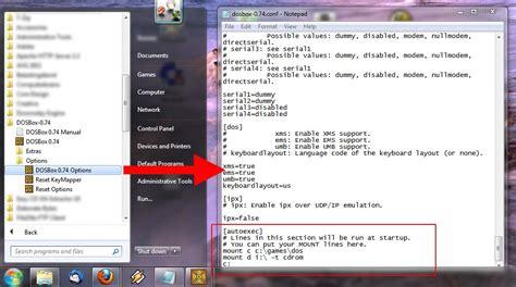 best dos emulator 1 on windows 10 8 and windows 7 with dosbox
