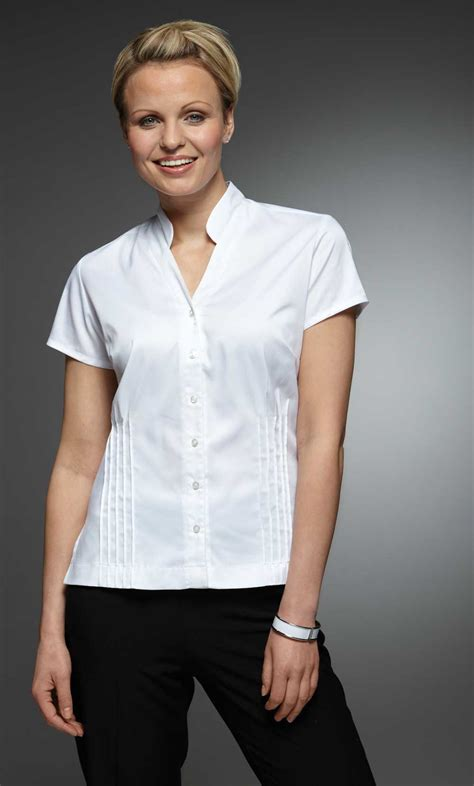 White Blouse 27 womens blouse for work sobatapk