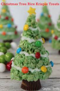 christmas trees rice krispie treats simplee thrifty
