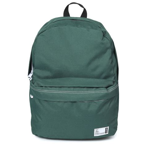 etnies forest green entry backpack rucksack college school office bag ebay
