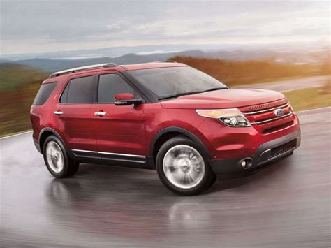 ford crossover suv 2014 ford explorer family crossover suv road test and
