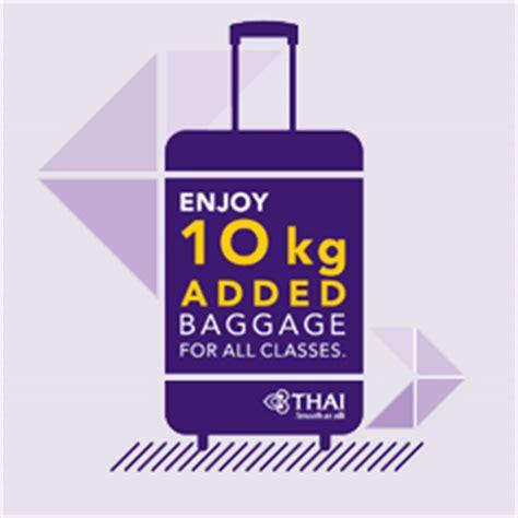 thai airways baggage allowance thailand travel forum thai airways international book flights to bangkok