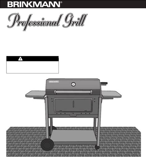 Backyard Grill Owner S Manual Brinkmann Charcoal Grill Heavy Duty Charcoal Grill User