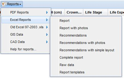 Arboricultural Report Templates Photos In Reports Otiss Support