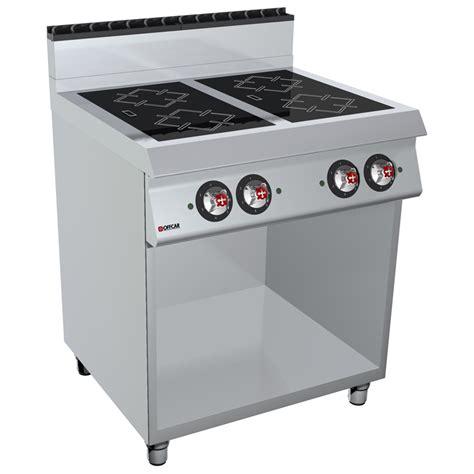 cucine elettriche a induzione cucina professionale elettrica a induzione 4 zone e vano