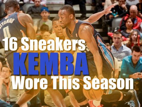 Mba Highlights Lebron by 16 Sneakers Kemba Walker Wore This Nba Season