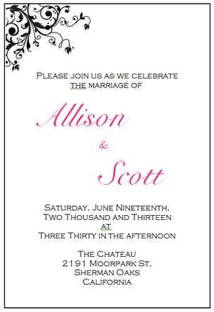wedding invitation scroll templates your free wedding invitation printing templates here