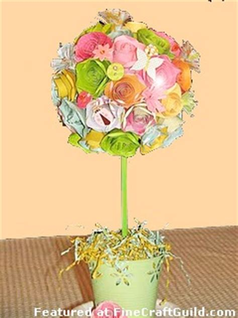 paper flower topiary tutorial paper flower topiary tutorial