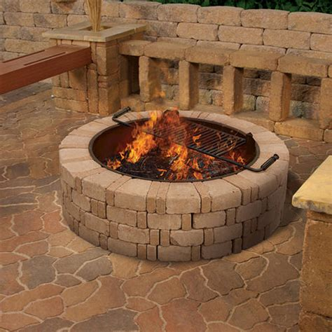 Menards Outdoor Fireplace by Ashwell Pit At Menards 174