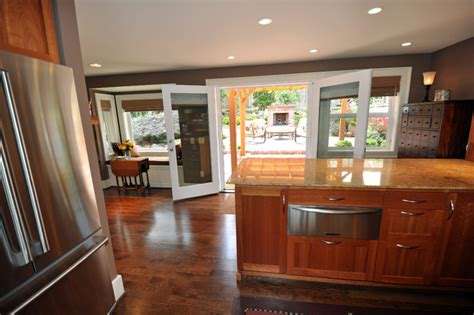 Kitchen Patio Doors Kitchen Patio Doors Traditional Kitchen Seattle By Ventana Construction Llc