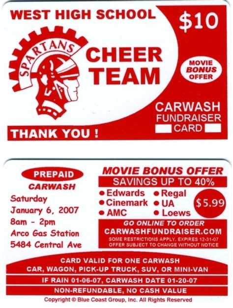 car wash fundraiser tickets template free the best free