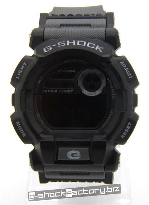 G Shock Time Grey Black g shock gd 400 matte black grey by www g