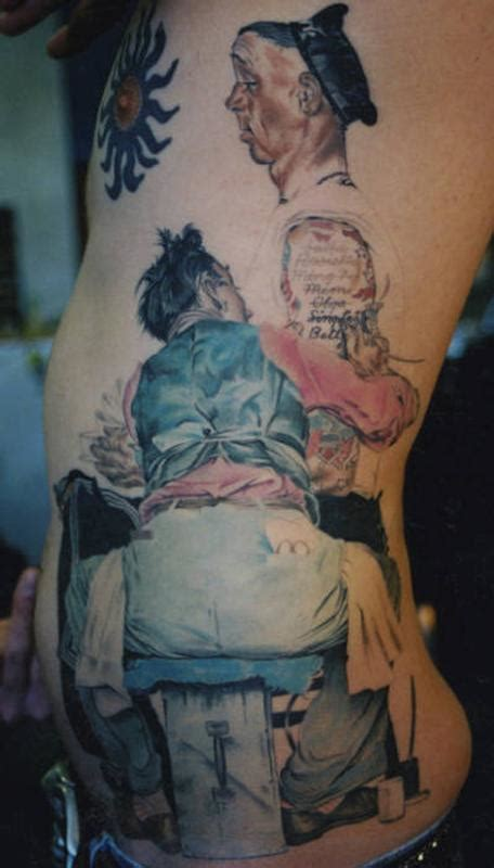 norman rockwell tattoo paradise artist retreat tattoos megan hoogland