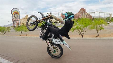 how to wheelie a motocross bike twitch ca nv wheelie transworld motocross