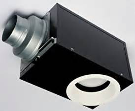 panasonic fv 08vrl1 whisperrecessed bathroom fan built