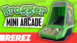 Frogger coleco mini arcade review amp gameplay rerez youtube