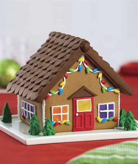 gingerbread house kit michaels gingerbread house decorations to take your creation to the next level real simple