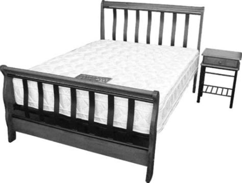 java bed frame beds java quot sleigh quot bed length bedframe