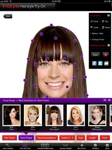 hairstyles app online top 10 apps that let you try on different haircuts