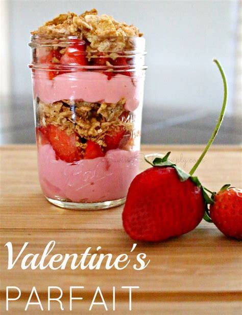 easy valentines recipes easy parfait recipe honey bunches of oats whole grain