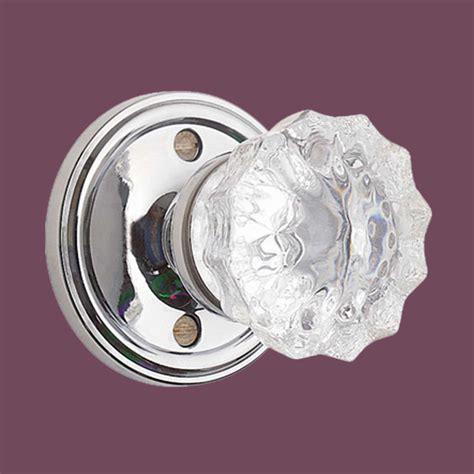 Glass Privacy Door Knobs by Door Knobs Clear Glass Chrome 2 3 8 Quot Door Knob Privacy Set
