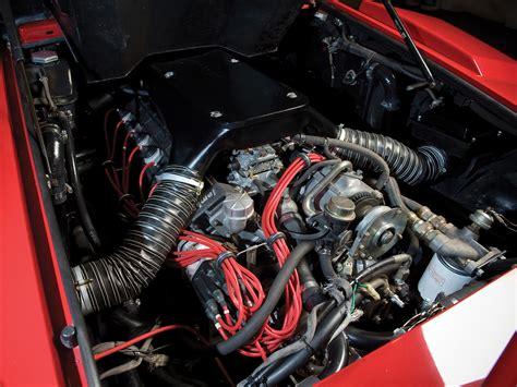 Lamborghini Countach Engine 1985 Lamborghini Countach 5000 Quattrovalvole Engine